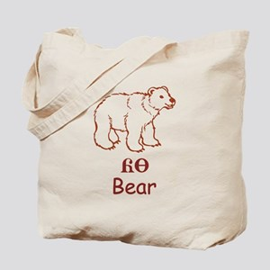Baby Cherokee Bear Tote Bag