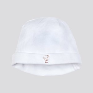 Baby Cherokee Bear baby hat