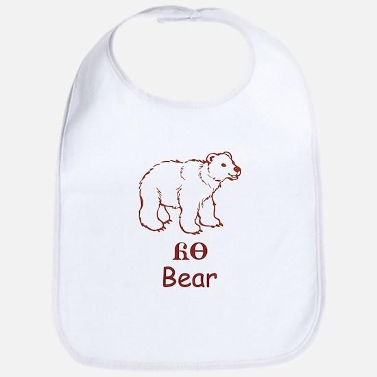Baby Cherokee Bear Bib