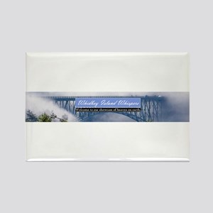 Whidbey Island Whispers Banne Rectangle Magnet
