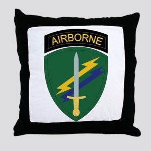 SSI - USACAPOC Throw Pillow
