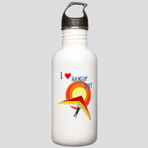 I Love Hangin' Out Stainless Water Bottle 1.0L