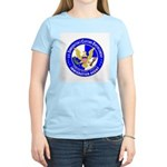 ICE in blue Women's Pink T-Shirt