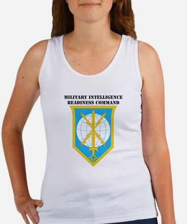 SSI - MIRC with Text Women's Tank Top