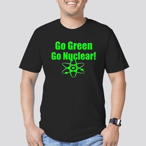 Go Green Men's Fitted T-Shirt (dark)