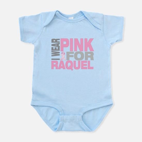 I wear pink for Raquel Infant Bodysuit