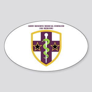 SSI-ARMY RESERVE MEDICAL COMMAND WITH TEXT Sticker