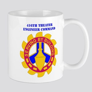 DUI-416TH THEATER ENGINEER COMMAND WITH TEXT Mug