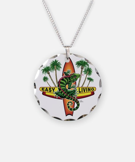 Easy Living Lizard Necklace