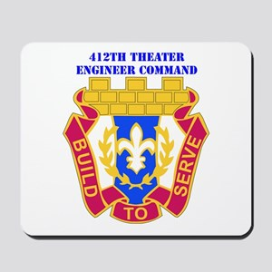 DUI-412TH THEATER ENGINEER COMMAND WITH TEXT Mouse