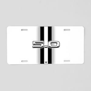 5.0 2012 Aluminum License Plate