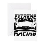Racer Greeting Card