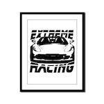 Racer Framed Panel Print