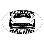 Racer Sticker (Oval 50 pk)