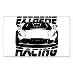 Racer Sticker (Rectangle)