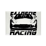 Racer Rectangle Magnet (10 pack)
