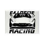 Racer Rectangle Magnet