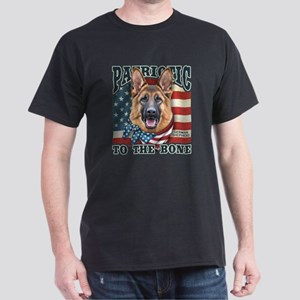 Patriotic - German Shepherd Dark T-Shirt