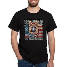 Patriotic - German Shepherd Dark T-Shirt