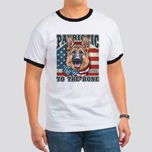 Patriotic - German Shepherd Ringer T