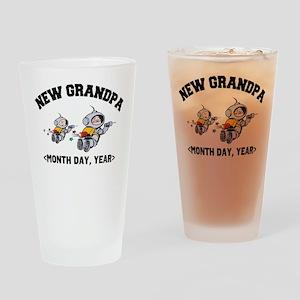 New Grandpa Personalized Drinking Glass