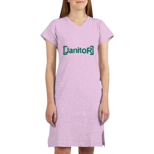 Scrubs Janitor Women's Nightshirt