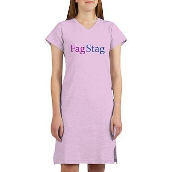 Fag Stag Women's Nightshirt