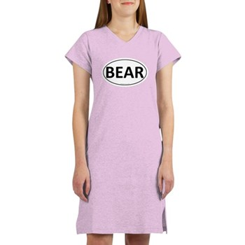 BEAR Euro Oval Women's Nightshirt