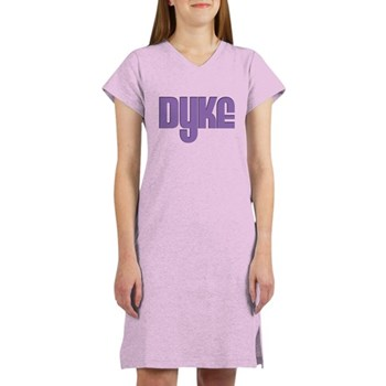 Purple Dyke Women's Nightshirt