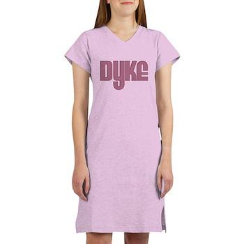 Pink Dyke Women's Nightshirt