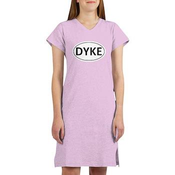 DYKE Euro Oval Women's Nightshirt