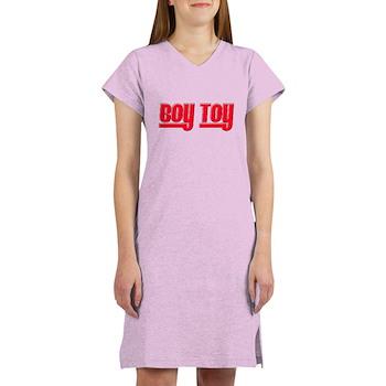 Boy Toy - Red Women's Nightshirt