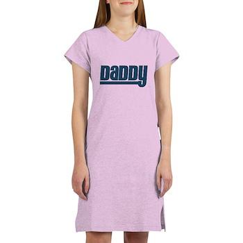 Daddy - Blue Women's Nightshirt