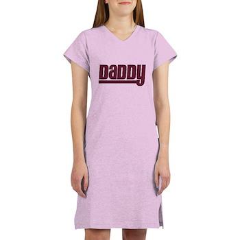 Daddy - Red Women's Nightshirt