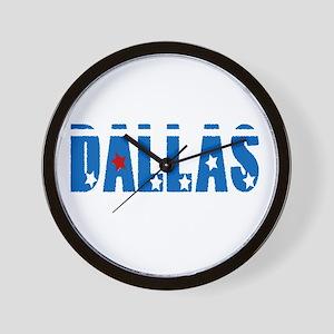 DALLAS* Wall Clock
