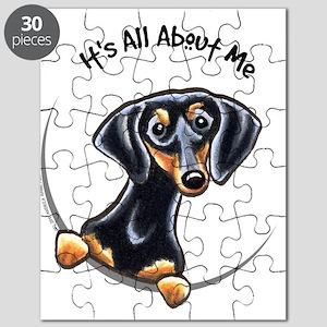 Black Tan Dachshund Lover Puzzle
