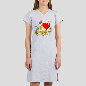 I Heart Schoolhouse Rock! Women's Nightshirt