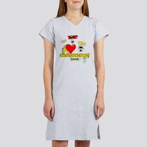 I Heart Interjections Women's Nightshirt