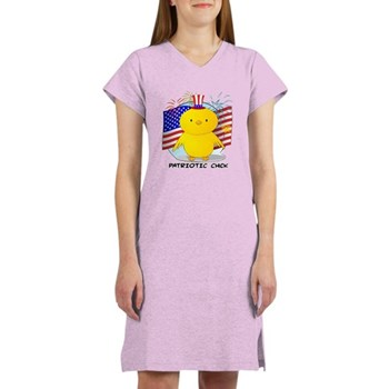 Patriotic Chick Women's Nightshirt