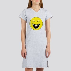 "Smiley Face - ""LOL"" Laughing Women's Nightshirt"