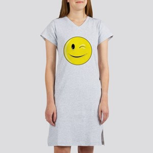 Smiley Face - Wink Women's Nightshirt