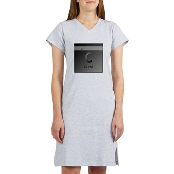 Carbon (C) Women's Nightshirt