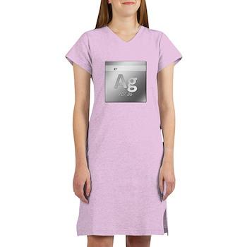 Silver (Ag) Women's Nightshirt