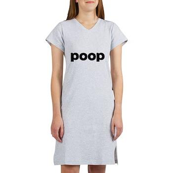 Poop Women's Nightshirt