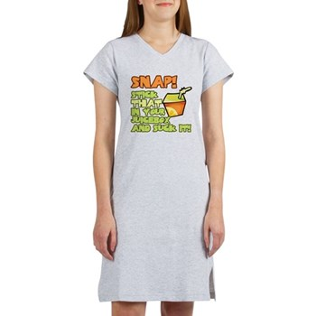 Stick that in your juicebox! Women's Nightshirt