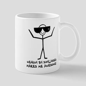 'Big Sunglasses' Mug