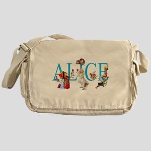 ALICE & FRIENDS IN WONDERLAND Messenger Bag