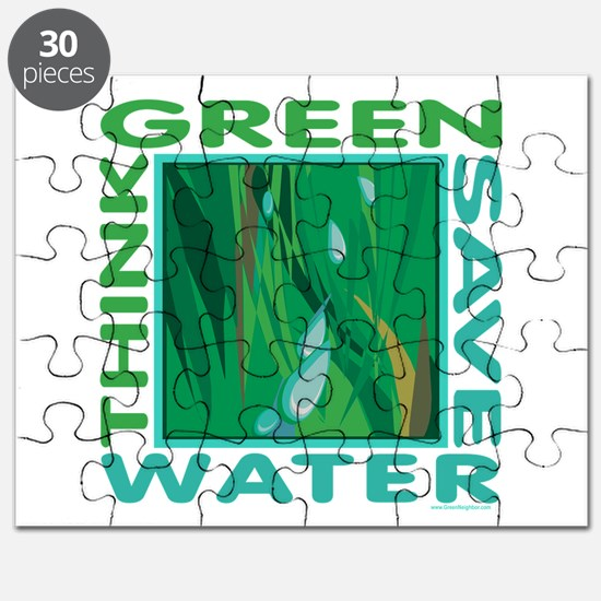 Water Conservation Puzzle