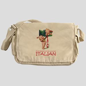 KEWPIES: LITTLE ITALIAN Messenger Bag