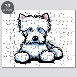Cute Westie Puzzle